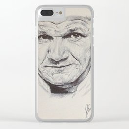World's Most Honest Chef Clear iPhone Case