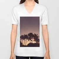 florida V-neck T-shirts featuring Florida by Whitney Retter