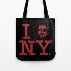 I (Snake) NY Tote Bag