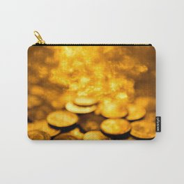 """Gold Coin Pulling Image...""""The Secret"""" If you see again and again, you can get it. Carry-All Pouch"""