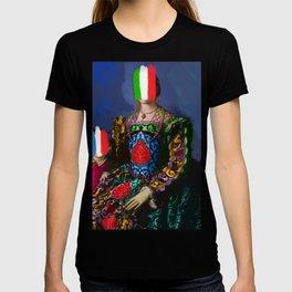 French Italian Pop Remix of Classical Painting of Bronzino T-shirt
