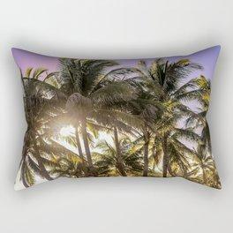 PURPLE AND GOLD SKIES Rectangular Pillow