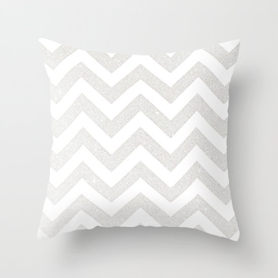 SILVER Throw Pillow