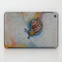 snail iPad Cases featuring Snail by Michael Creese