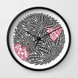 Nature Loves Wall Clock