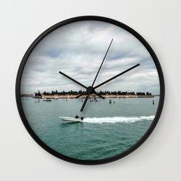 San Michele Island - Venice Wall Clock