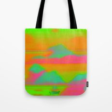 Sunset in the Realm Tote Bag