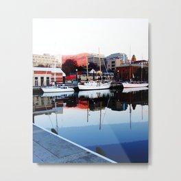 Serenity Floats Metal Print