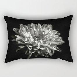 Black and White Dhaila Rectangular Pillow
