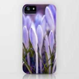 Ultra Violet Sound iPhone Case