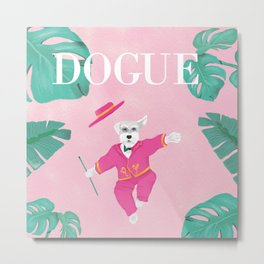 Dogue - Dance Metal Print