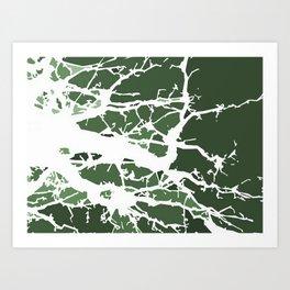 Mycelium Art Print