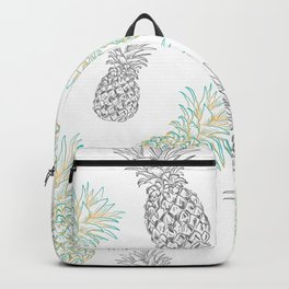 Pineapples party Backpack