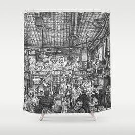Robert's Western World Shower Curtain