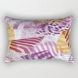 Abstract safari pattern Rectangular Pillow
