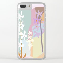 Orchid Garden #society6 #buyart #decor Clear iPhone Case