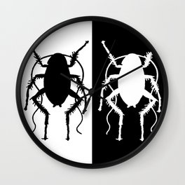 Cockroach Wall Clock