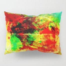 Subtle Form - Abstract colour painting Pillow Sham