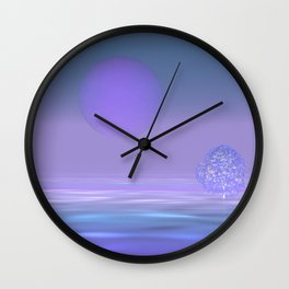 peaceful time -3- Wall Clock