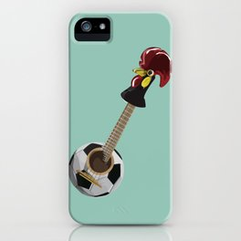 fado, soccer,and a cock from barcelos iPhone Case