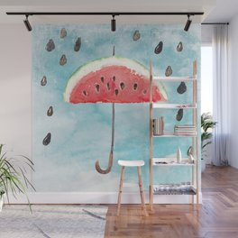 Melon - Fruity Summer Rain Wall Mural