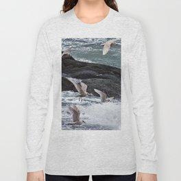 Gulls shop for Dinner Long Sleeve T-shirt