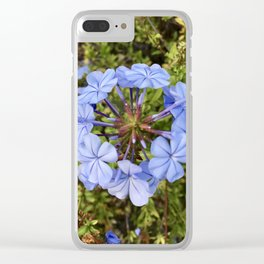 Trust the Process: Flower Ring Clear iPhone Case