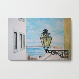 View from Lisbon Metal Print