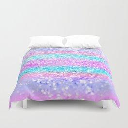 Unicorn Girls Glitter #15 #shiny #decor #art #society6 Duvet Cover