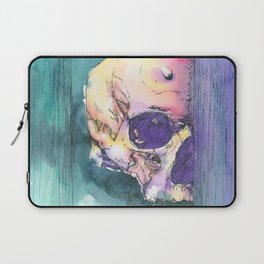 Colorful Skull 6 Laptop Sleeve