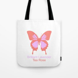 Ulysses Butterfly 7 Tote Bag