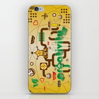 creativity iPhone & iPod Skins featuring Creativity by Tobia Crivellari