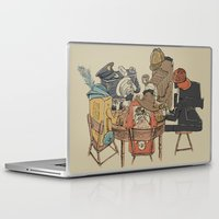 poker Laptop & iPad Skins featuring Polaroid Poker by Romayne Robinson
