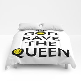 GOD RAVE THE QUEEN Comforters