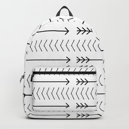 Shoot Straight (B&W) Backpack