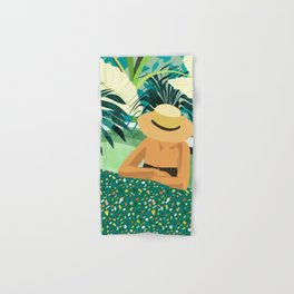 Chill #illustration #travel Hand & Bath Towel