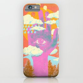 FOREST HAND iPhone Case