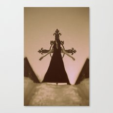 damned girl Canvas Print