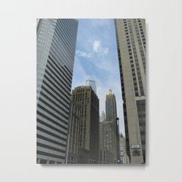 To The Heights Metal Print