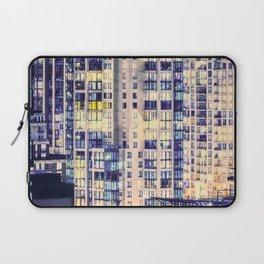 Pastel Urban Sprawl Cityscape Laptop Sleeve