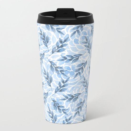 pattern 64 Metal Travel Mug
