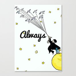 Always - Severus Snape Canvas Print