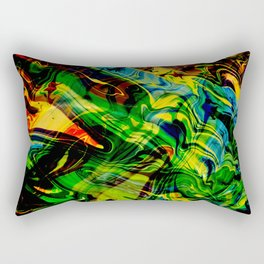 Exploding Star Rectangular Pillow