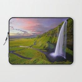 Seljalandsfoss, Iceland waterfall Laptop Sleeve