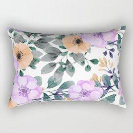 FLOWERS WATERCOLOR 21 Rectangular Pillow