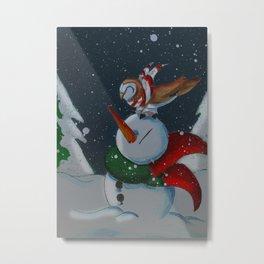 Christmas Eve Companions Metal Print