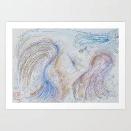 Spring(Forward) Art Print