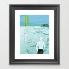 Ice Ice Bobby Framed Art Print