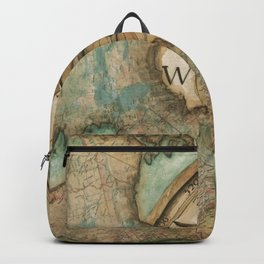 Nautical Compass Backpack