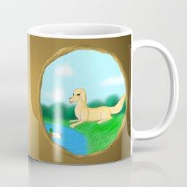 The Golden Hunter Coffee Mug